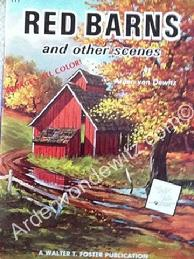 Red Barns Art Book Cover Page