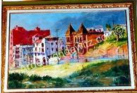#9 The Dowager�s House 24 x 36 Oil, Painted in 1962 (P)