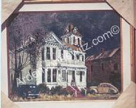 #13 The Ghost House 24 x 30 Oil, Painted in 1960