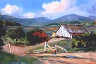 #84 The Old Mail Pouch Barn 24x36 Oil